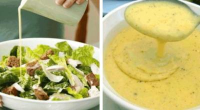 5 лучших соусов для салатов