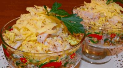 Необычный и легкий салат Загадка Софии