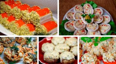 Подборка оригинальных закусок на ваш праздничный стол