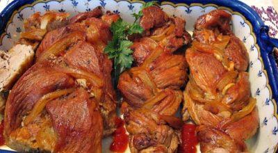 После того, как я узнала об этом рецепте приготовления свинины – всегда готовлю и подаю мясные блюда так!