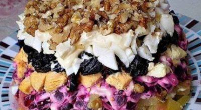 Салат «Графский»: самое лучшее блюдо из отварной свеклы! Шубу больше не готовим