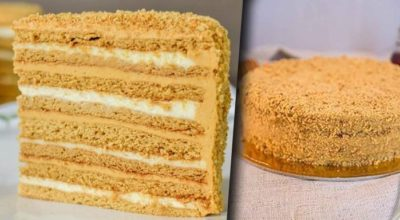 """Тот самый классический домашний торт """"Медовик"""""""